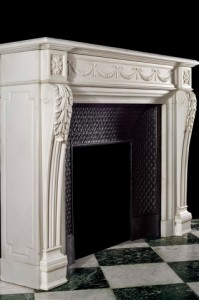 marble mantel design